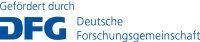 Dfg Logo Schriftzug Blau Foerderung