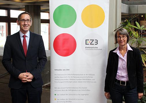 Dr. Schüller-Zwierlein und Dr. Hutzler