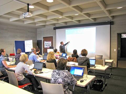 Schulungsraum der Universitätsbibliothek