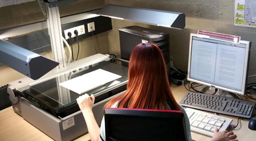 Buchscanner Zeutschel OS 5000